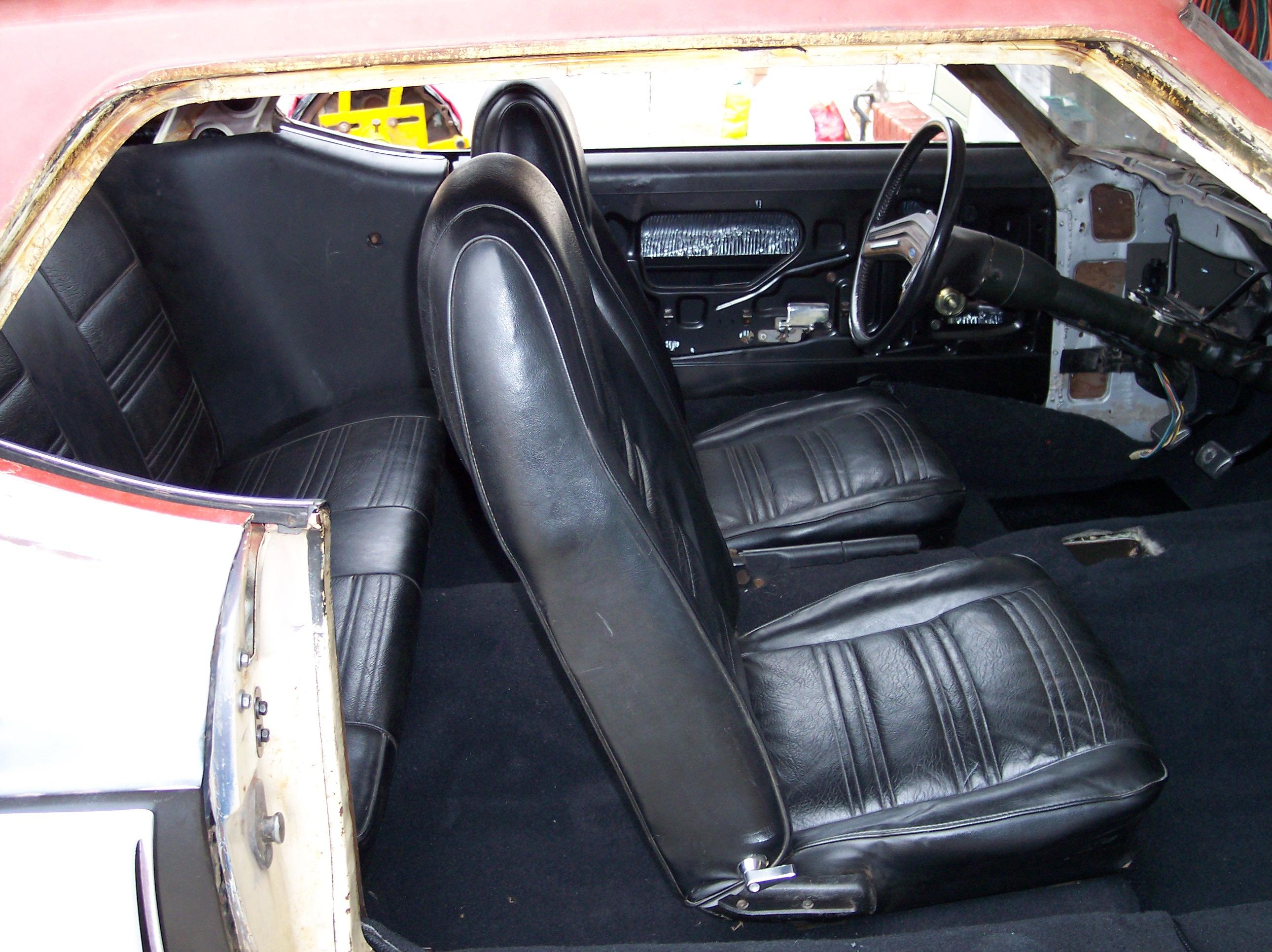 Ford Capri Mk1 69 74 Tailored Car Mats Black Vehicle Parts Accessories Car Parts