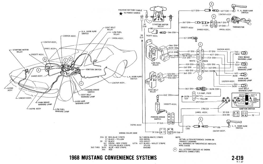 [ANLQ_8698]  Fuel Gauge Wiring | Vintage Mustang Forums | 1966 Mustang Instrument Wiring Diagram |  | Vintage Mustang Forums