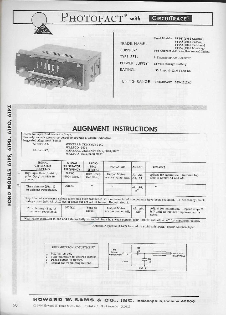 [CSDW_4250]   Wiring diagram for 1966 AM radio | Vintage Mustang Forums | 1966 Mustang Philco Radio Wiring Diagram |  | Vintage Mustang Forums
