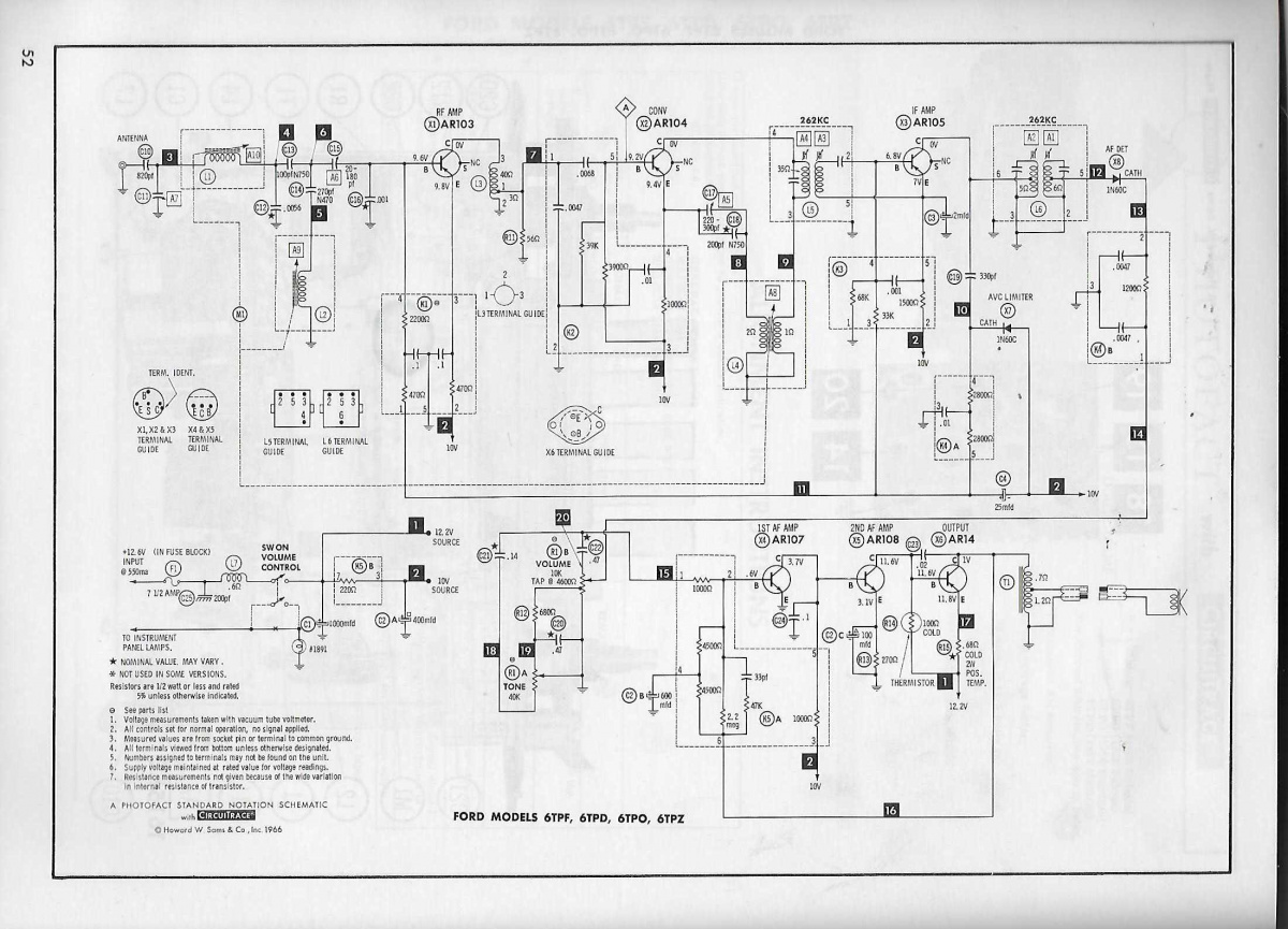 1966 Mustang Radio Wiring Diagram from www.vintage-mustang.com
