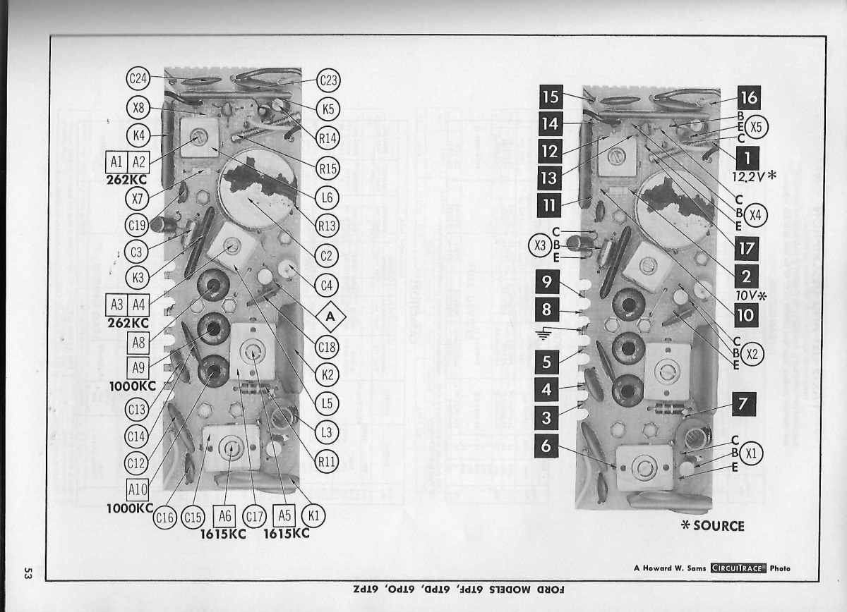 Wiring Diagram For 1966 Am Radio