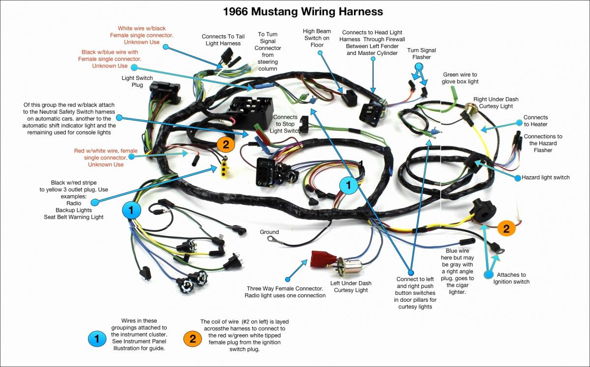 Premium under dash wiring 1966 coupe | Page 2 | Vintage Mustang ForumsVintage Mustang Forums
