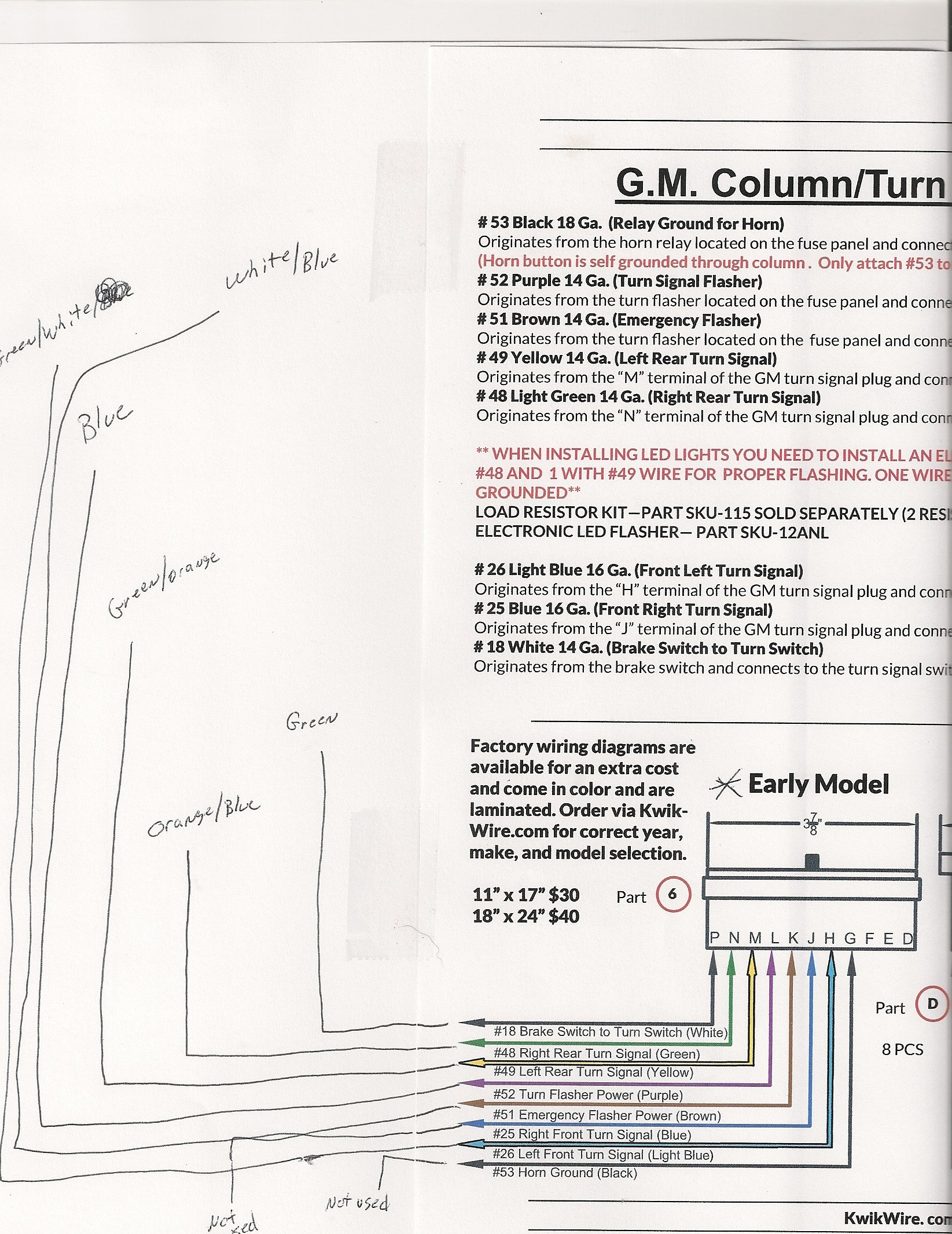 Emergency Flasher Wiring Diagram Gm