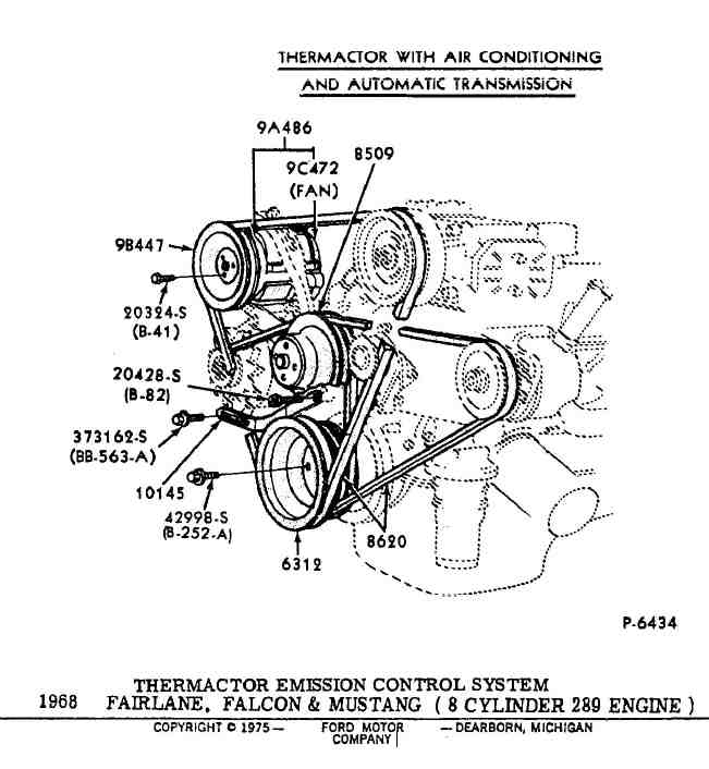289 Ford Engine Diagram