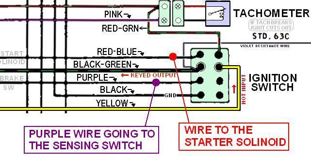 1970 Low Brake Fluid Warning Light Wiring