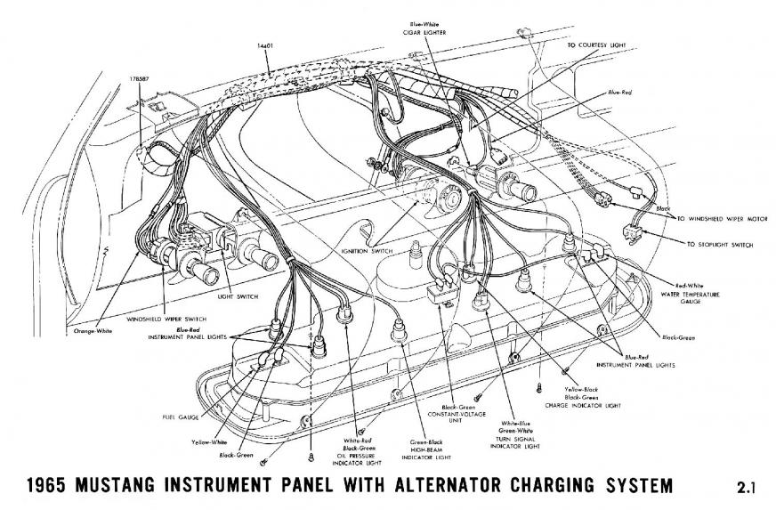 changing 65 to a gauge cluster | Vintage Mustang ForumsVintage Mustang Forums