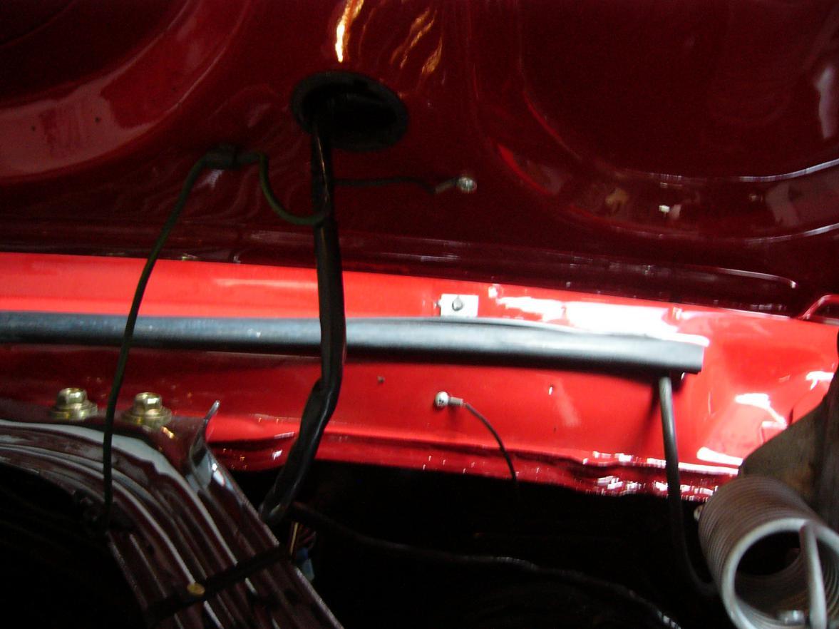 67 Turn Signal Hood - wiring harness question | Vintage Mustang ForumsVintage Mustang Forums