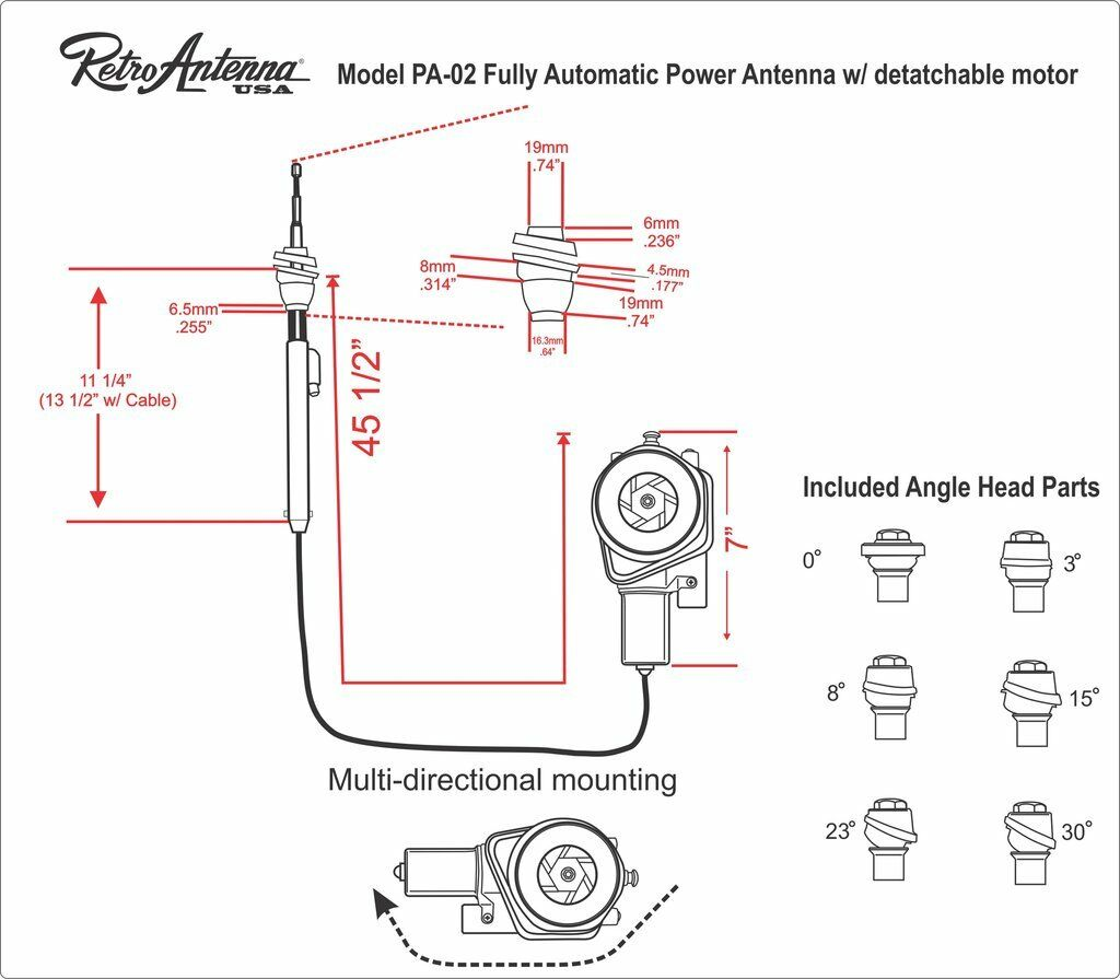 Power antenna for 1964-1966 Mustangs? | Vintage Mustang ForumsVintage Mustang Forums