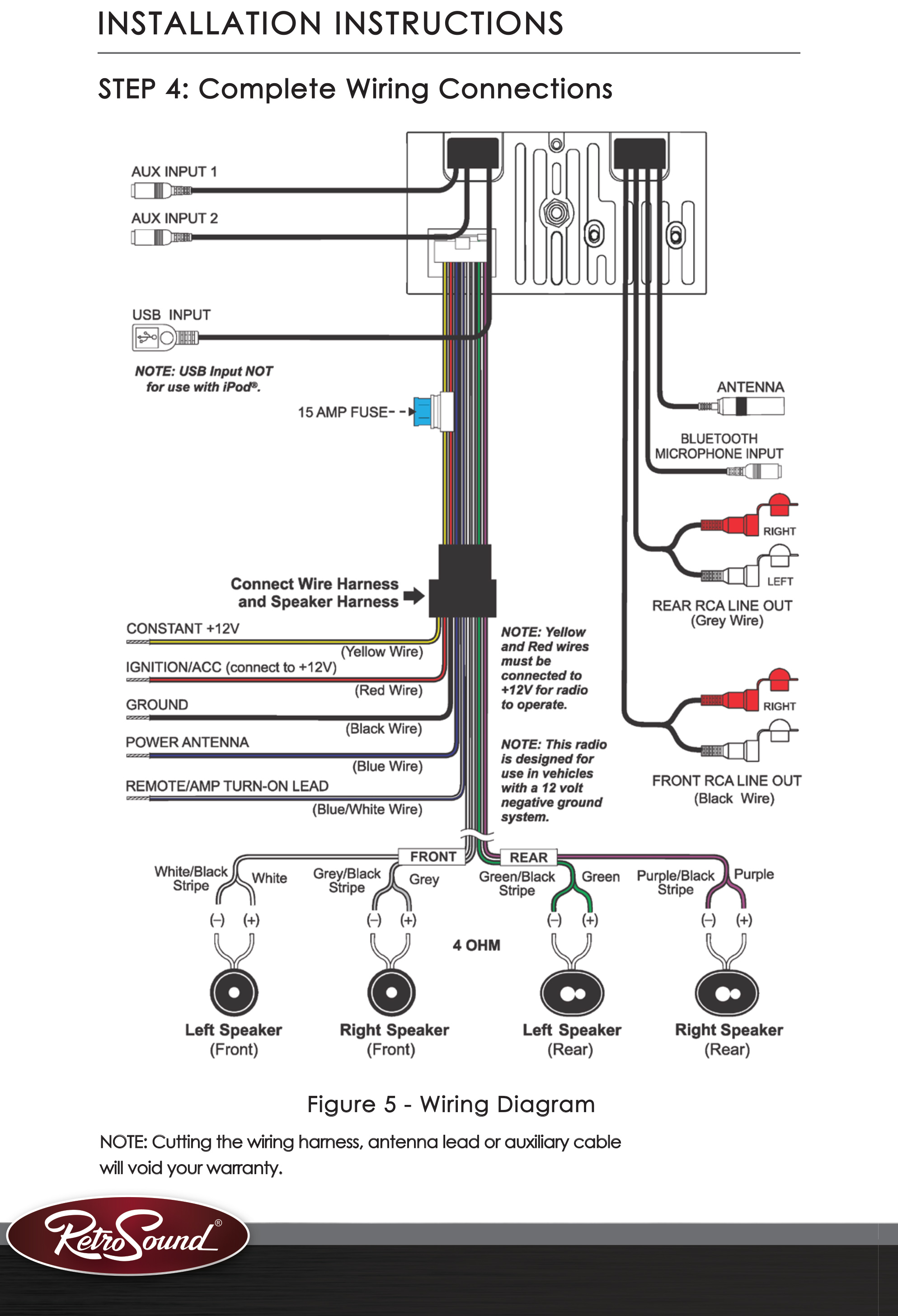 Retro Sound Wiring Issues Vintage Mustang Forums