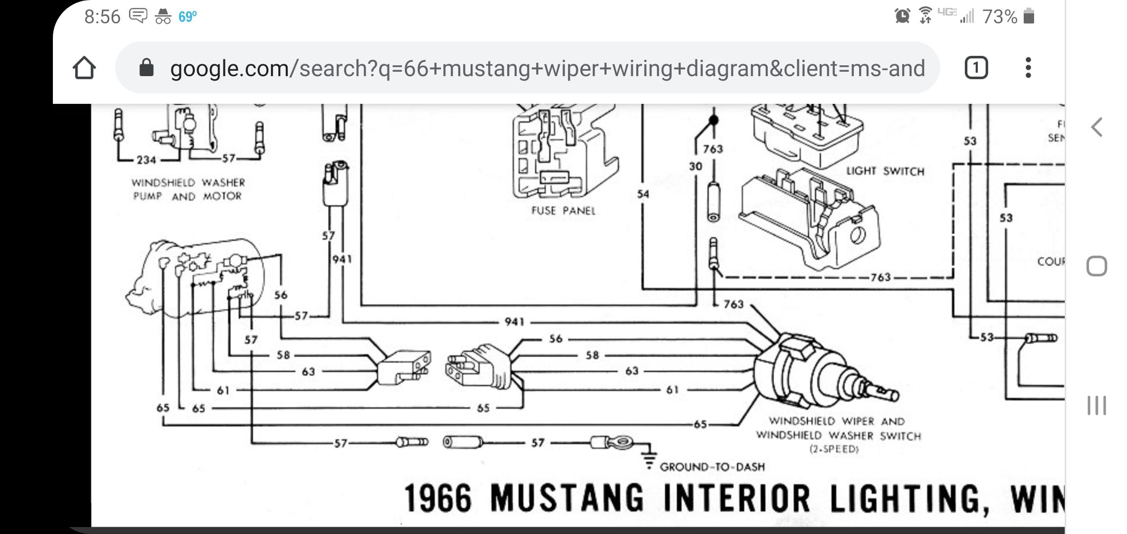 66 2 Speed Wiper Motor Bench Test Vintage Mustang Forums
