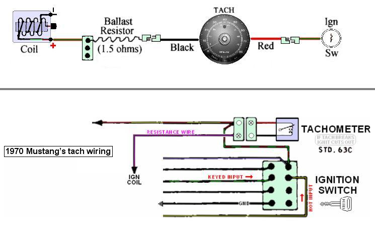 12V Coil or Resistor   Vintage Mustang Forums Ignition Coil Wiring Diagram With Resistor on ignition coil wiring diagram, bypass ballast resistor wiring diagram, ignition coil external resistor diagram,