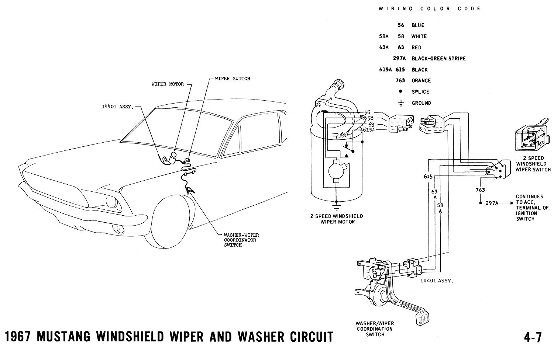 67 Wiper Wiring Help | Vintage Mustang Forums
