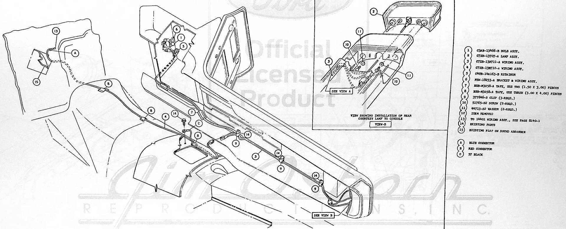 1966 Mustang Coupe Wiring Question Vintage Mustang Forums