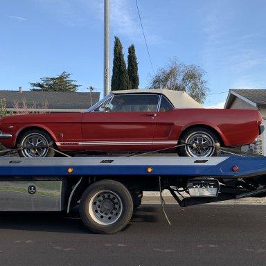 Mustang Reinforcement Pan Driver Side Convertible 1965-1970