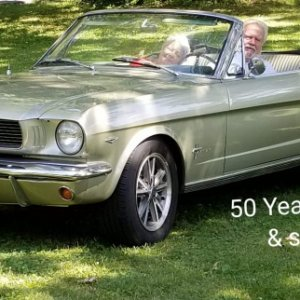 0 (50)first drive July 3, 2019, Our 50th wedding anniversary 7-5-2019